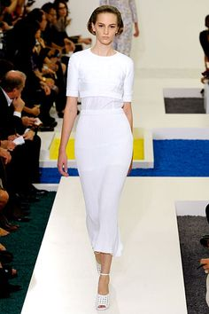 "Jil Sander. I love this @Nina Garcia. Hope it can work on a 5'1"" frame too."