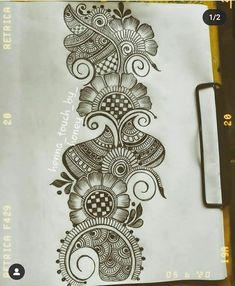 Traditional Henna Designs, Modern Henna Designs, Henna Tattoo Designs Simple, Henna Hand Designs, Latest Bridal Mehndi Designs, Full Hand Mehndi Designs, Mehndi Designs For Beginners, Mehndi Designs For Girls, Mehndi Design Photos