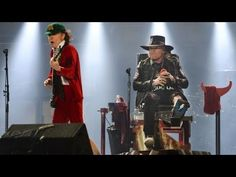 AC/DC Live Performance - First Show With Axl Rose - FULL Concert at Lisb...