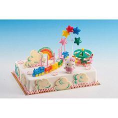 Dieses Set von Dekoback bietet alles, was Sie für eine tolle Torte benötigen - Figuren, Lock, Karussell, Aufleger etc.