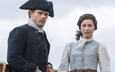 Jamie and Claire on Outlander 3 ❤❤❤