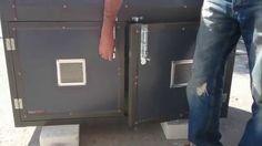 A dog box for Transportation, Boxes, Home Appliances, Dog, House Appliances, Diy Dog, Crates, Box, Appliances