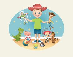 Playtime In Andy's Room by Jerrod Maruyama, via Flickr - Available exclusively at the WonderGround Gallery in Downtown Disney - Anaheim.
