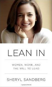 Many ideas learned from Ms. Sandberg. Definitely worth the quick read.  Lean In: Women, Work, and the Will to Lead >> http://amzn.to/VKEMIu