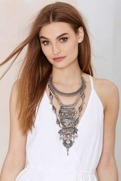 Amanti Tiered Necklace   Shop Accessories at Nasty Gal!