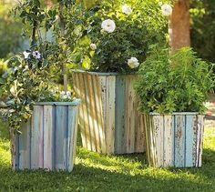 50 υπέροχες γλάστρες και ζαρντινιέρες απο παλέτες! | Φτιάξτο μόνος σου - Κατασκευές DIY - Do it yourself