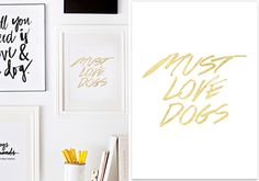 Introducing the Pretty Fluffy Print Shop | Dog-Milk.com - Exciting news, everypawdy! Our good friends at Pretty Fluffy have just launched an online boutique featuring high-quality art prints for design-obsessed dog lovers.