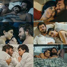 Cesur and Suhan - Intimate moments. My Happy Ending, Happy Endings, Turkish Men, Turkish Actors, Cute Wallpaper Backgrounds, Cute Wallpapers, Decendants, Best Couple, Hemsworth