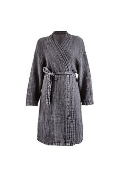 Himla Kimono Fresh Laundry i vasket hør