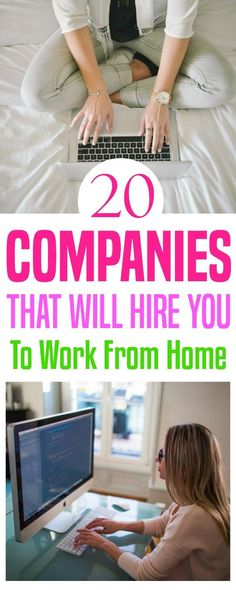 Sometimes we need to home but we also need to earn a paycheck. These 20 companies regularly hire people to work at home. Work from home | work remotely | WAH | work at home.