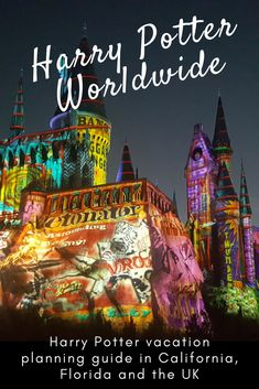 Harry Potter vacation time! A comprehensive guide to all things from the wizarding world - in California, Florida and the UK. Theme parks, movie studio tours and actual locations that inspired JK Rowling. | Harry Potter World | #HarryPotter | Vacation ideas Orlando | Universal Studios | Warner Bros Studios