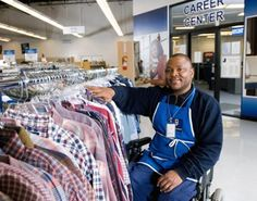 Find out how your thrift shopping at Goodwill helps the community.