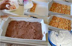 Σοκολατένιο γλυκό ψυγείου με cream crackers - cretangastronomy.gr Cream Crackers, Tiramisu, Banana Bread, Ethnic Recipes, Desserts, Food, Tailgate Desserts, Deserts, Essen