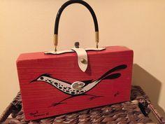 Enid Collins Original Box Bag - vintage purse #EnidCollins #Box