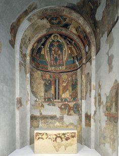 Absis de Santa Maria de Taüll | Museu Nacional d'Art de Catalunya