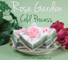 Rose Garden Cold Process Soap Tutorial | Soap Queen