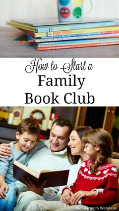 A family book club is a great way to inspire a love of reading in kids and also a fun family bonding activity! This article walks you through how to set yours up and includes discussion question ideas and book suggestions.