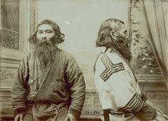 Two Ainu men from Sakhalin, October 20, 1909 by Bronislaw Pilsudski