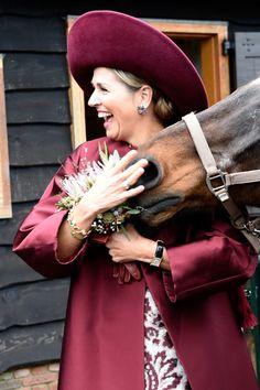 Queen Maxima and a Horse, October 2017
