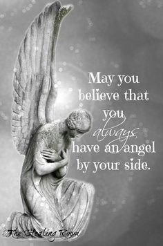 Let angels also watch over animals and insects. Even though they are smaller in size, they still have family and friends like we do.