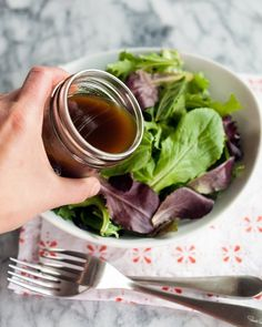 Essential Recipe: Balsamic Vinaigrette — Recipes from The Kitchn