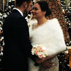 Winter Wedding Fur, Winter Bride, Winter Wonderland Wedding, Winter Weddings, Vintage Fur, Vintage Bridal, Winter Wedding Inspiration, Museum Wedding, Art Deco Wedding