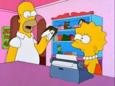 Homero Simpson - Robar es malo.