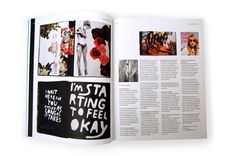 WE MAKE MAGAZINES: This book showcases more than 100 independent magazines from around the world. Featuring exclusive interviews and stunning layouts, it is a celebration of the energy and visual dynamite that can be found outside the publishing mainstream. This is your chance to discover a magazine about pain and beauty, a magazine for people who give a damn, and the (self-proclaimed) most melancholy magazine that's actually anything but. Published for Colophon 2009.