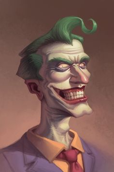 Joker by ~bonvillain on deviantART