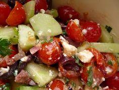 Christine's Cuisine: Greek Cherry Tomato Salad
