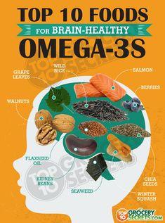 Omega 3 fatty acids are crucial to proper brain nourishment, throughout life according to recent research – NaturalNews.com