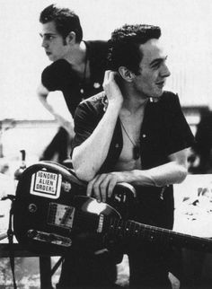 Joe Strummer and Paul Simonon