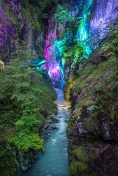 Light Ragaz in Taminaschlucht, Bad Ragaz, Switzerland. Photo by Bob8. Source Flickr.com