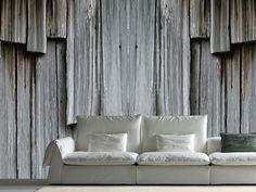 Carta da parati effetto legno in tessuto non tessuto THE NEW Collezione Mix Mix by Yoyo Designs