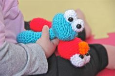 Cookie Monster Baby Rattle Sesame Street | Craftsy
