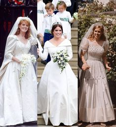 Princesa Beatrice, Princess Eugenie And Beatrice, Princess Margaret, Royal Wedding Gowns, Royal Weddings, Wedding Dresses, Lady Diana, Royal Family Portrait, Royal Family Pictures