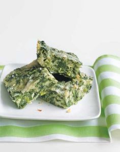 Spinach Squares from Brooklyn's Susie's Supper Club!