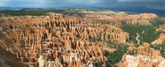 Hoodo formations in Bryce Canyon NP, Utah