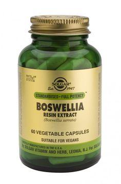 solgar boswellia resin exract