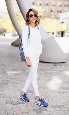 40 Ideas Para Usar Pantalones Blancos | Cut & Paste – Blog de Moda