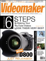 June 2012    It's time to get legal, get serious and get ahead in your video production. From the latest on Copyright Registration to getting your work seen on TV as a Citizen Journalist, the June edition of Videomaker has it all for you. Find tips on organizing your workspace and using music libraries, Plus, earn cash by editing wedding videos or making extreme action sports videos.