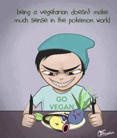 A Pokemon Vegan