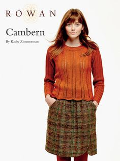 Cambern Sweater in Rowan Pure Wool Worsted. Discover more Patterns by Rowan at LoveKnitting. The world's largest range of knitting supplies - we stock patterns, yarn, needles and books from all of your favorite brands.