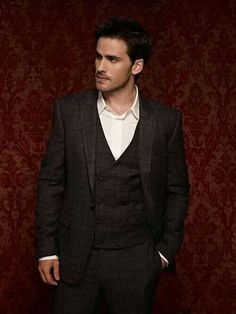 Handsome Colin- Captain Hook; Once Upon A Time