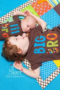 Big Brother Little Brother Matching Shirt and by TheMommaFish, $40.00