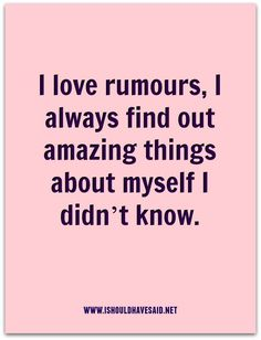 Gossip quotes - Comebacks when someone is spreading rumours about you Quotes About Rumors, Quotes About Haters, Sarcasm Quotes, Sassy Quotes, Real Quotes, Mood Quotes, Wisdom Quotes, Positive Quotes, Quotes About Jealous People