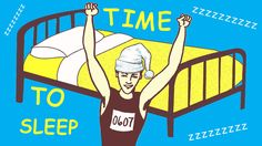 """How Can I Fall Asleep Faster? """"Look for patterns in the random noise of your eyelids and try to 'follow' it. Once you start seeing complete images you're under way to dreamland."""" Plenty of other tips on the article, too."""
