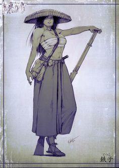 Commissh - Tetsuko by kasai.deviantart.com on @deviantART