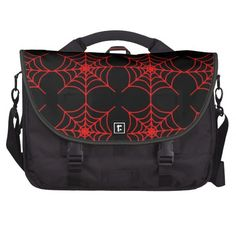 Spiderweb Pattern (Pick Your Web Color) Laptop Bag