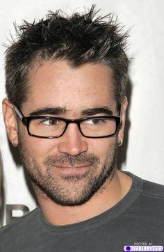 Colin Farrel with sexy glasses